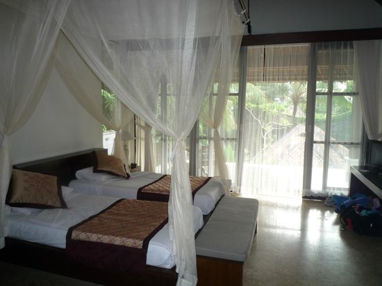Pertiwi Resort & Spa: Lovely upgraded room with private pool.