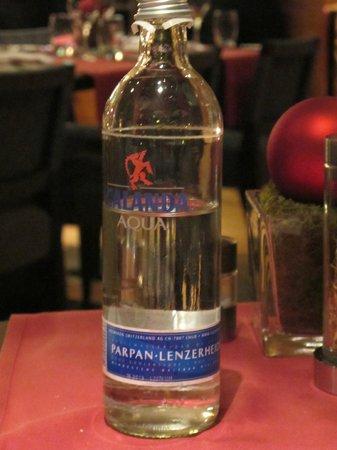 ECHO Restaurant: strange tasting water ^^