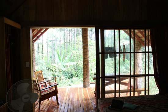 Atiu Villas: Room with a view! And a breeze