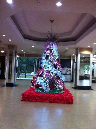 Hotel Riu Naiboa: в лобби елка - очень красивая
