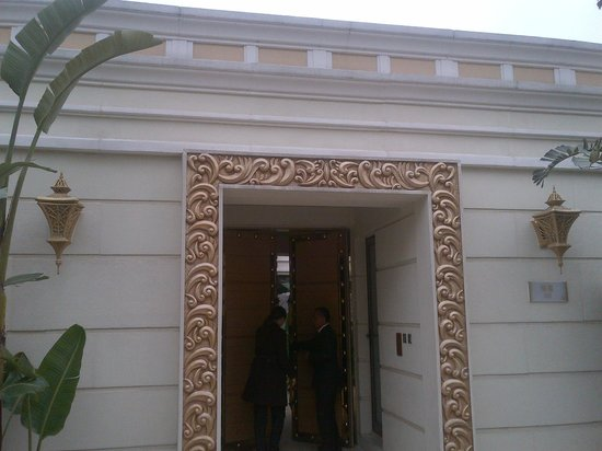 Banyan Tree Macau: The villa entrance