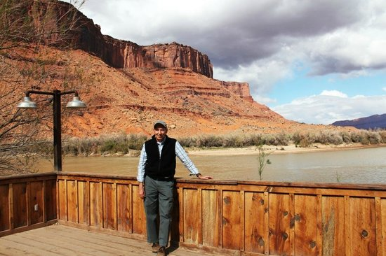 View of Colorado River from Red Cliffs Lodge