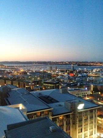 Rydges Auckland: View from our room 1410