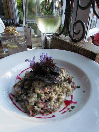 Redcliff Restaurant & Bar: Vegetarian YUMMY risotto