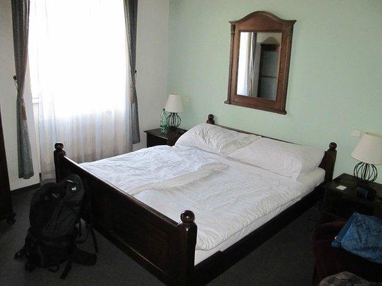 Hotel U Krize: the room