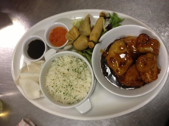 The Woodman: Chinese platter