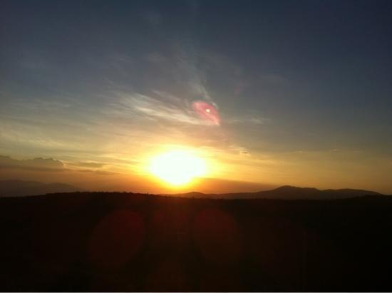 sunset on the ngong hills