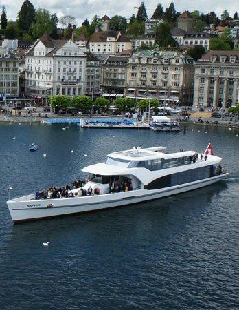Panorama-Yacht Saphir
