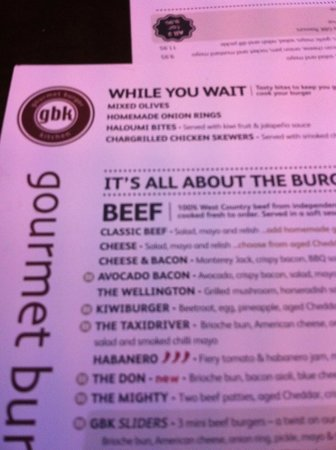 Camemburger yum picture of gourmet burger kitchen for O kitchen edinburgh menu