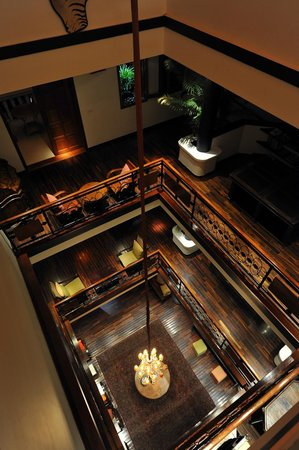 The Governors House Boutique Hotel Phnom Penh: the atrium