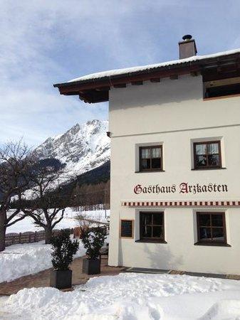 Gasthaus Arzkasten - Obsteig - Mieminger Sonnenplateau - Tirol