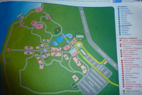 Pierre & Vacances Village Club Sainte Luce: Plan du village