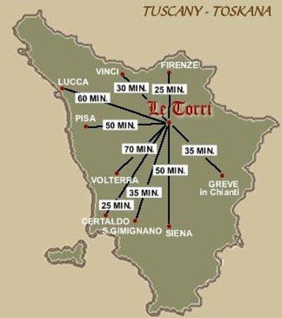 Villa Le Torri: Heart Tuscany neart Florence