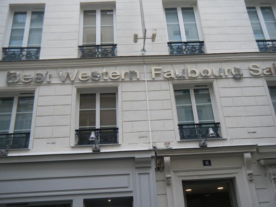 Best Western Hotel Faubourg Saint-Martin: Building