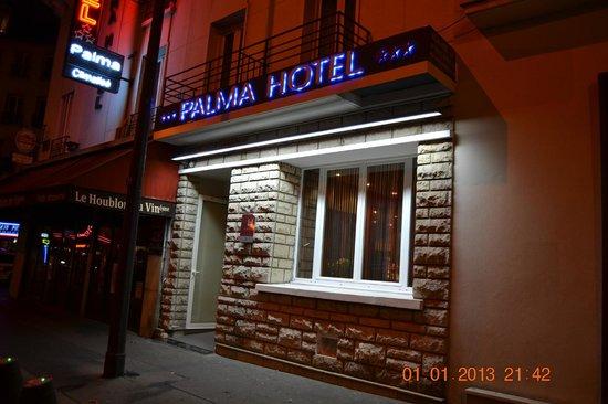 Hotel Palma: L'esterno