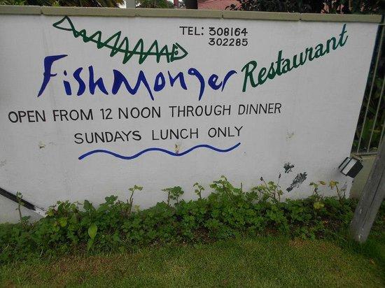 Opening times, Fishmonger