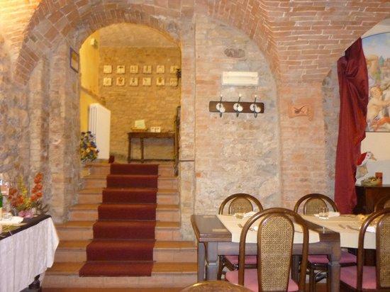 Locanda San Michele: interno della locanda