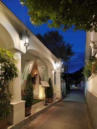 Villa Brunella: Entrata