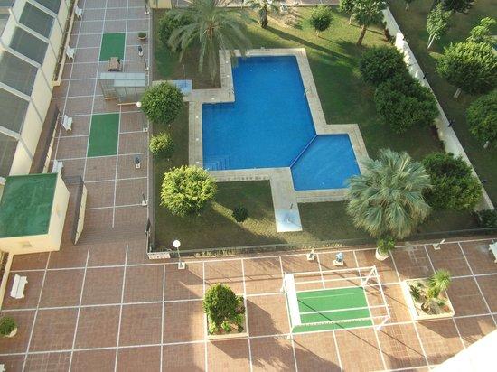 Gemelos XX Apartments: Zwembad