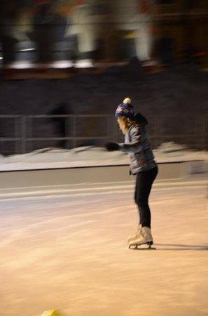 Helsinki Icepark : Ice skating in Helsinki