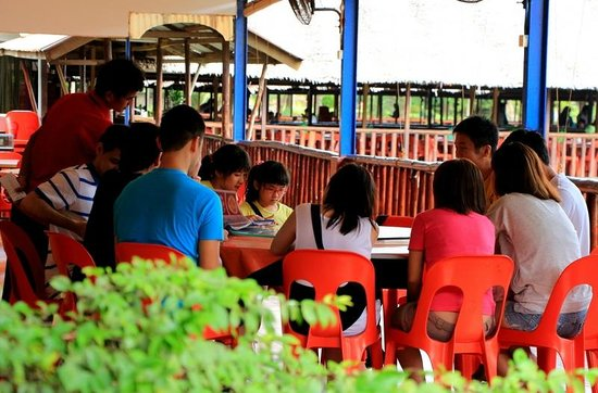 Golden View Hotel Batam: Dining at Golden Prawn