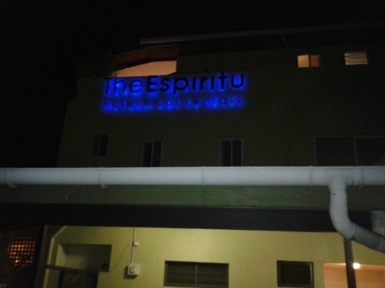 The Espiritu : The Hotel front