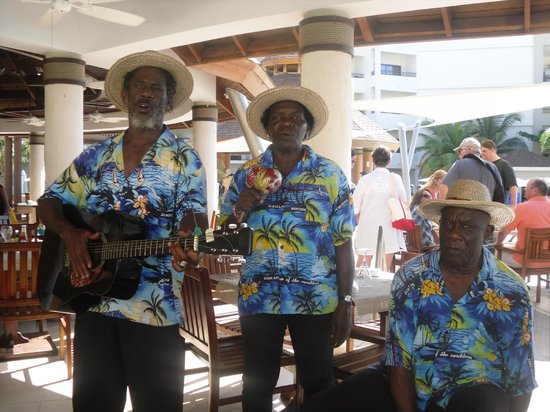 Secrets Wild Orchid Montego Bay: singing to us