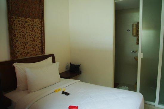 Ubud Green: chambre single avec sdb