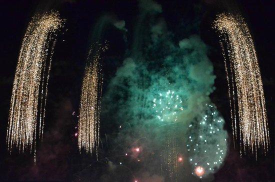 فيلا ميا: Feuerwerk am Silvester 2012 in Funchal 
