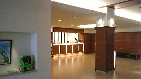 Amanohashidate Hotel : ホテルのフロント