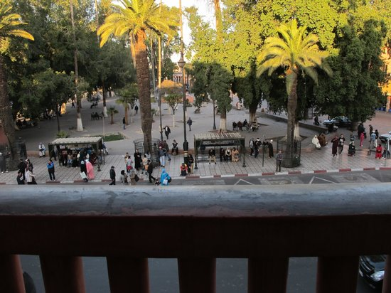 Hotel Foucauld : Room view