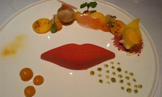 Ter Leepe: Passion Kiss, Een dessert vol tropische vruchten.