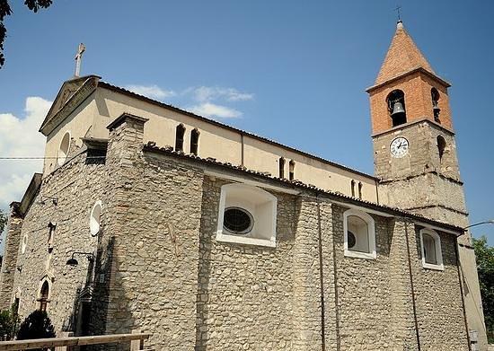 Chiesa di San Leucio, Pietracamela