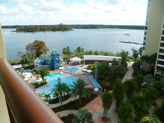 Bay Lake Tower at Disney's Contemporary Resort: View From Room