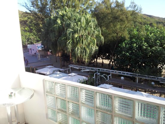 Concerto Inn: view from the room