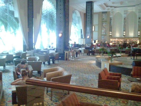 Hotel Istana: lobby area