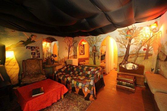 Calcata, Italia: rifugio di Peter Pan