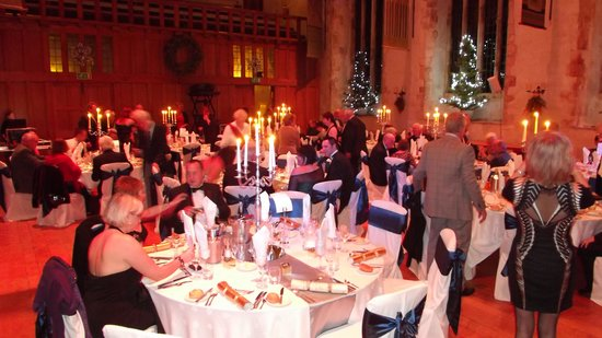 Dartington Hall Hotel: New Year's Eve Ball in the great hall