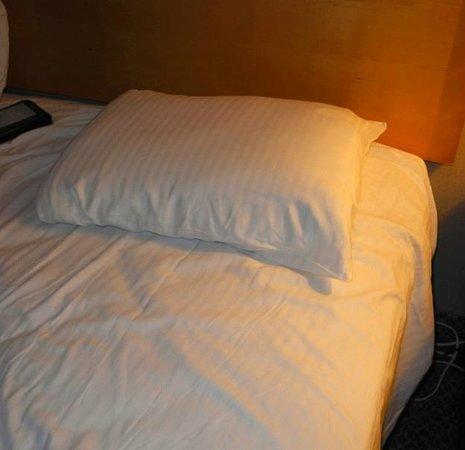 Royal Resort: Anemic pillow.