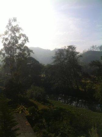 Grand Plaza Munnar: vue de notre chambre