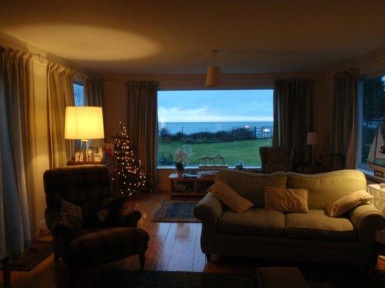 Darven Cottage B&B Sannox, Isle of Arran: Living room