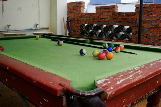 Yangshuo En Attendant Godot's Hostel: play area