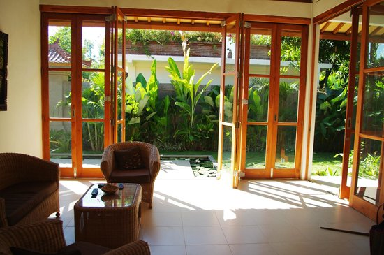 Villa Sutra: vue du salon