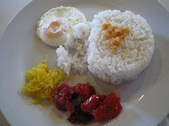 Cintai by Corito's Garden: tocino breakfast