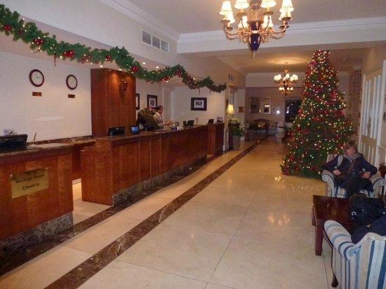 Park International Hotel: Rezeption