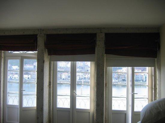 Pestana Vintage Porto: vista desde la habitación: el Duero