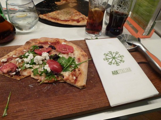 Ask Italian - London - Gloucester Arcade : Pizza