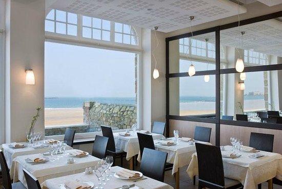 Restaurant Antinea: Restaurant vue Mer