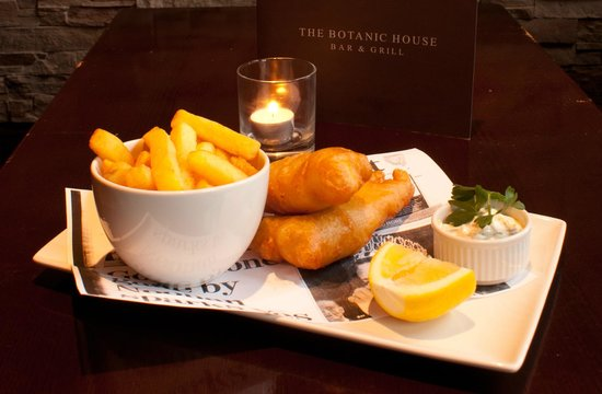 The Botanic House: Fish & Chips
