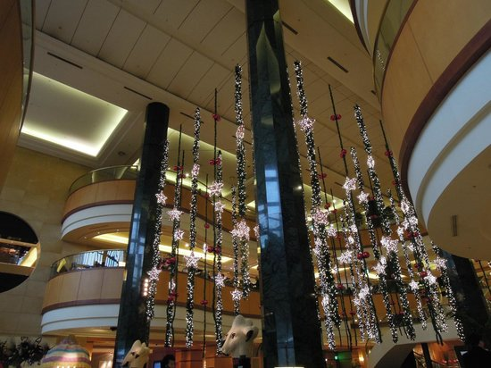 JW Marriott Hotel Seoul: ロビーの飾り